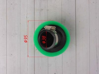 Фильтр воздушный 38мм угловой зеленый фото 5