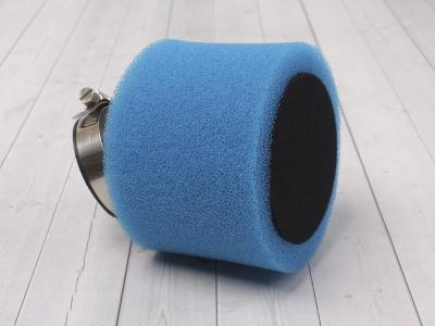 Фильтр воздушный 42мм угловой синий фото 1