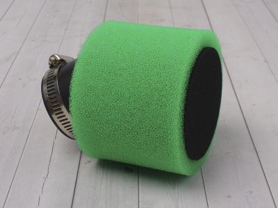 Фильтр воздушный 42мм угловой зеленый фото 1