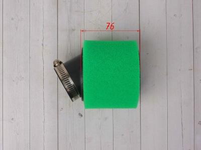 Фильтр воздушный 42мм угловой зеленый фото 3