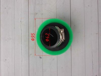 Фильтр воздушный 42мм угловой зеленый фото 5