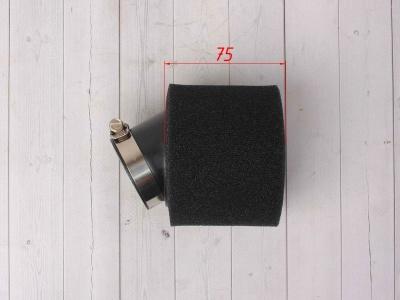 Фильтр воздушный 45 угловой черный фото 3