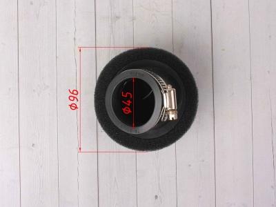Фильтр воздушный 45 угловой черный фото 5