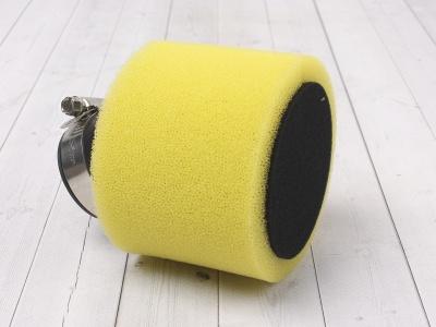 Фильтр воздушный 38мм угловой желтый фото 1