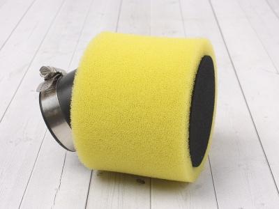 Фильтр воздушный 42мм угловой желтый фото 1