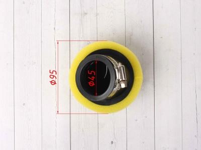 Фильтр воздушный 45 угловой желтый фото 5