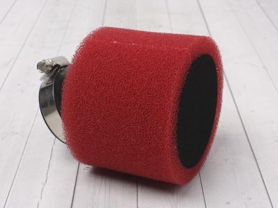 Фильтр воздушный угловой 45мм красный фото 1