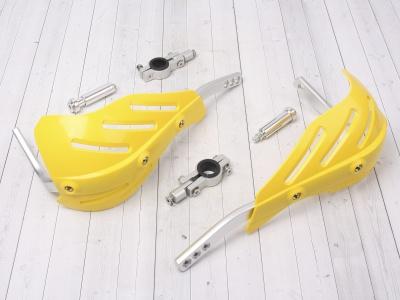 Защита рук (пара) HP15 желтые армированные 22-28мм фото 1