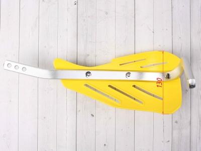 Защита рук (пара) HP15 желтые армированные 22-28мм фото 5