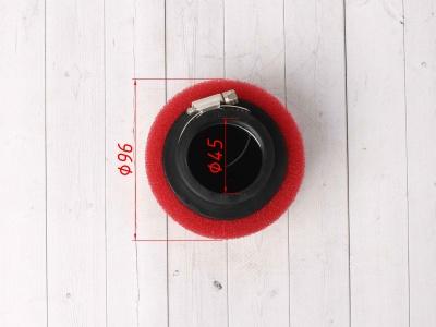 Фильтр воздушный 45мм красный фото 5