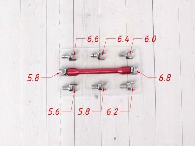 Ключ спицевой универсальный PRO SM-PARTS фото 3