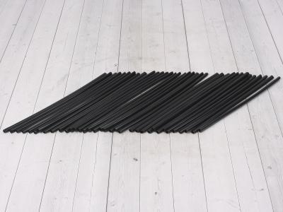 Трубки для спиц 35шт черные  фото 1