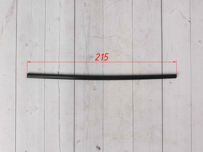 Трубки для спиц 35шт черные  фото 3