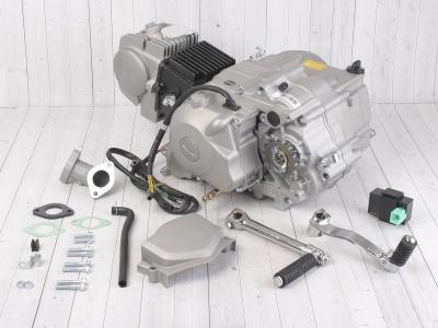 Двигатель YX 125см3 в сборе, электростартер, п/автомат 153FMI (W120) фото 1