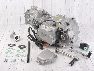 Двигатель в сборе YX 1P60FMJ (WD150) 150см3, электростартер фото 1