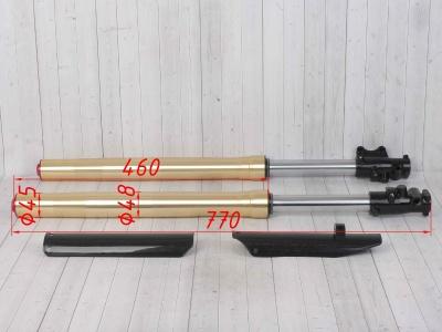 Амортизаторы передние (перья вилки) KAYO KLX,CRF 45/48 фото 3