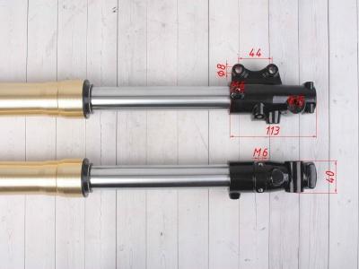 Амортизаторы передние (перья вилки) KAYO KLX,CRF 45/48 фото 5