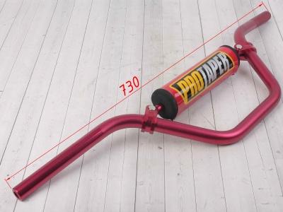Руль PROTAPER алюминиевый высокий красный фото 3