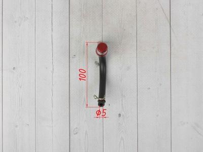 Бензоклапан красный CNC c замком фото 3